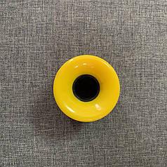 Колесо для Пенни Борд без подшипников и втулки - Желтое (1 шт)