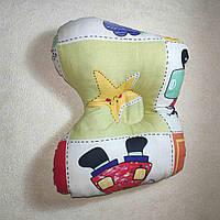 Подушка ортопедическая для новорожденного бабочка Разные расцветки