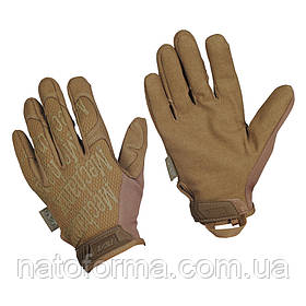 Тактические перчатки Mechanix Original Gloves, Coyote