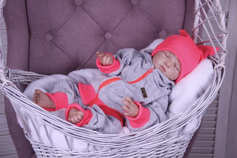 Детский спортивный костюм Favorite малиновый/неоновый
