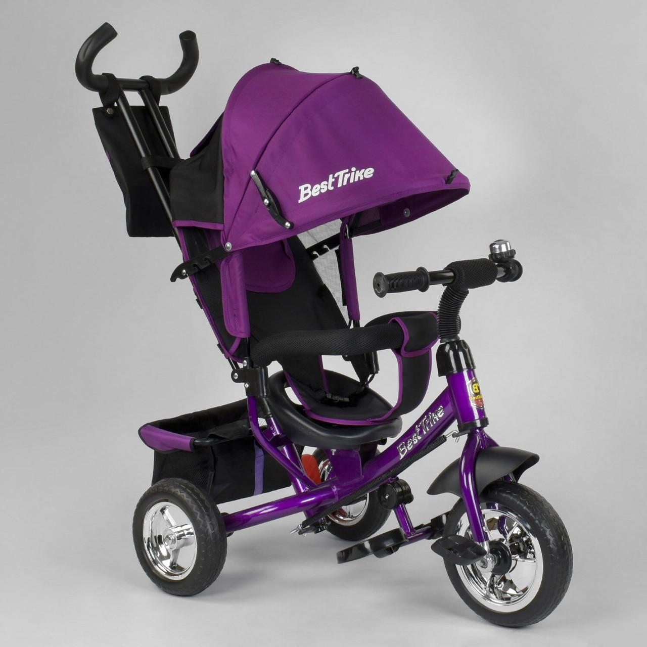 Велосипед трехколесный Best Trike 6588-19-109 Фиолетовый