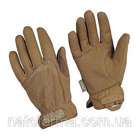Тактические перчатки Mechanix Anti-static FastFit Gloves, Coyote