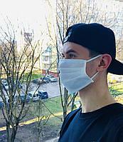 Маска защитная, трехслойная, белая | Защитные маски, упаковки по 25 и по 100 шт