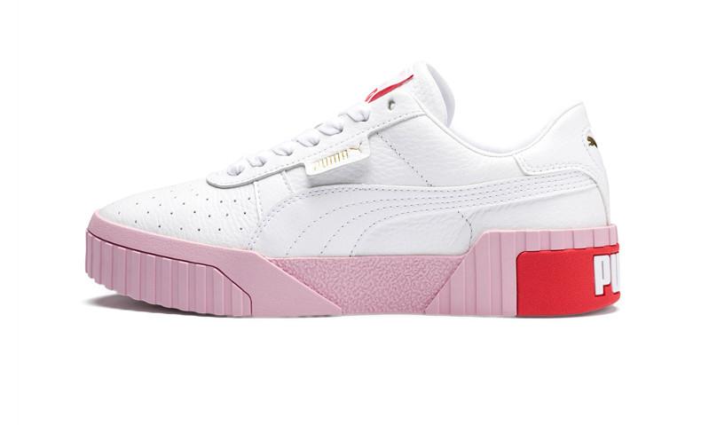 Жіночі кросівки Puma Cali White/Red/Pink