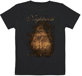 Детская футболка Nightwish - Human. :II: Nature. (чёрная)