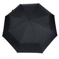 Мужской зонт складной Ziller ZL-421 на 8 спиц автомат черный