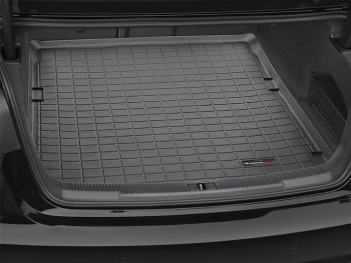 Ковер резиновый WeatherTech в багажник черный Audi A6 (только Sedan) 2012-2018