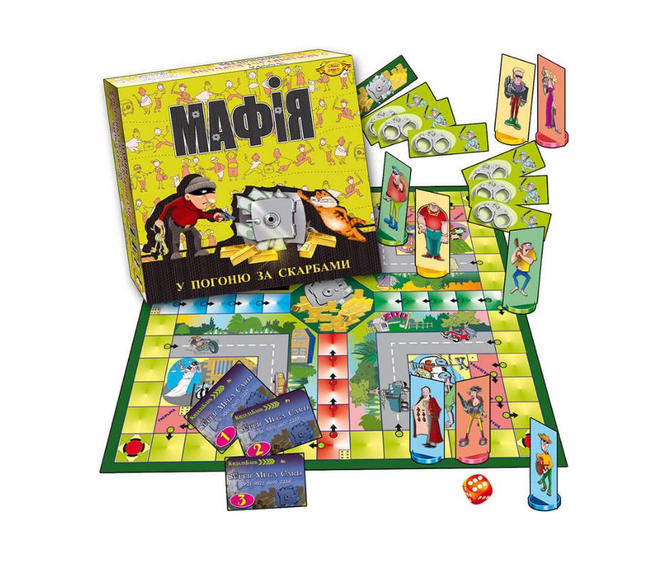 Игра настольная Мафия для детей и взрослых