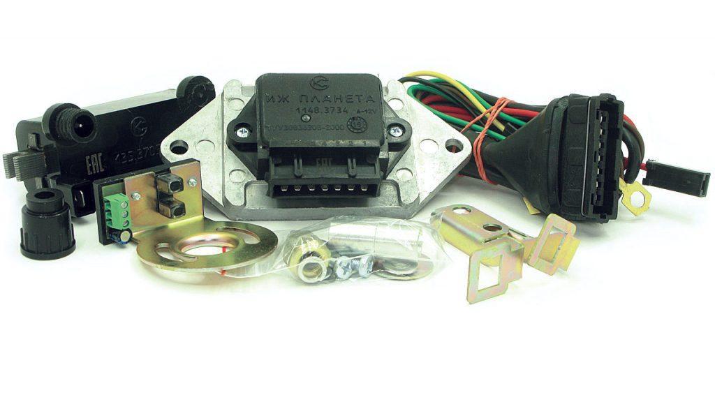 Микропроцессорная бесконтактная система зажигания 1148.3734 («ИЖ-Планета») с катушкой зажигания 135.3705М