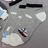"""Носки укороченные для детей, 7-9 лет, """"Фенна"""" . Детские  носки,  носочки для детей, фото 2"""