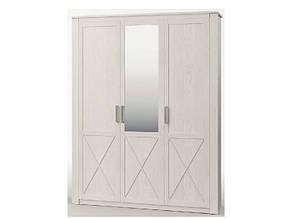 Белый шкаф 3Д Эшли (Світ Меблів)