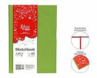 "Скетчбук для графики 100г мелкое зерно книж.форм. ""ROSA STUDIO"" 96л А5 14,8*21см ФІСТАШКОВА обкл."