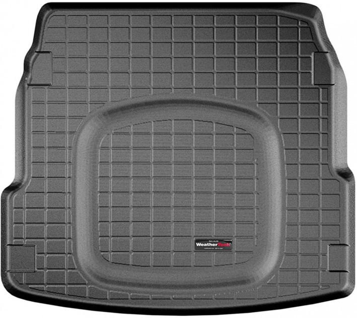 Ковер резиновый WeatherTech в багажник черный Audi A8 (только бензин) 2011-2016