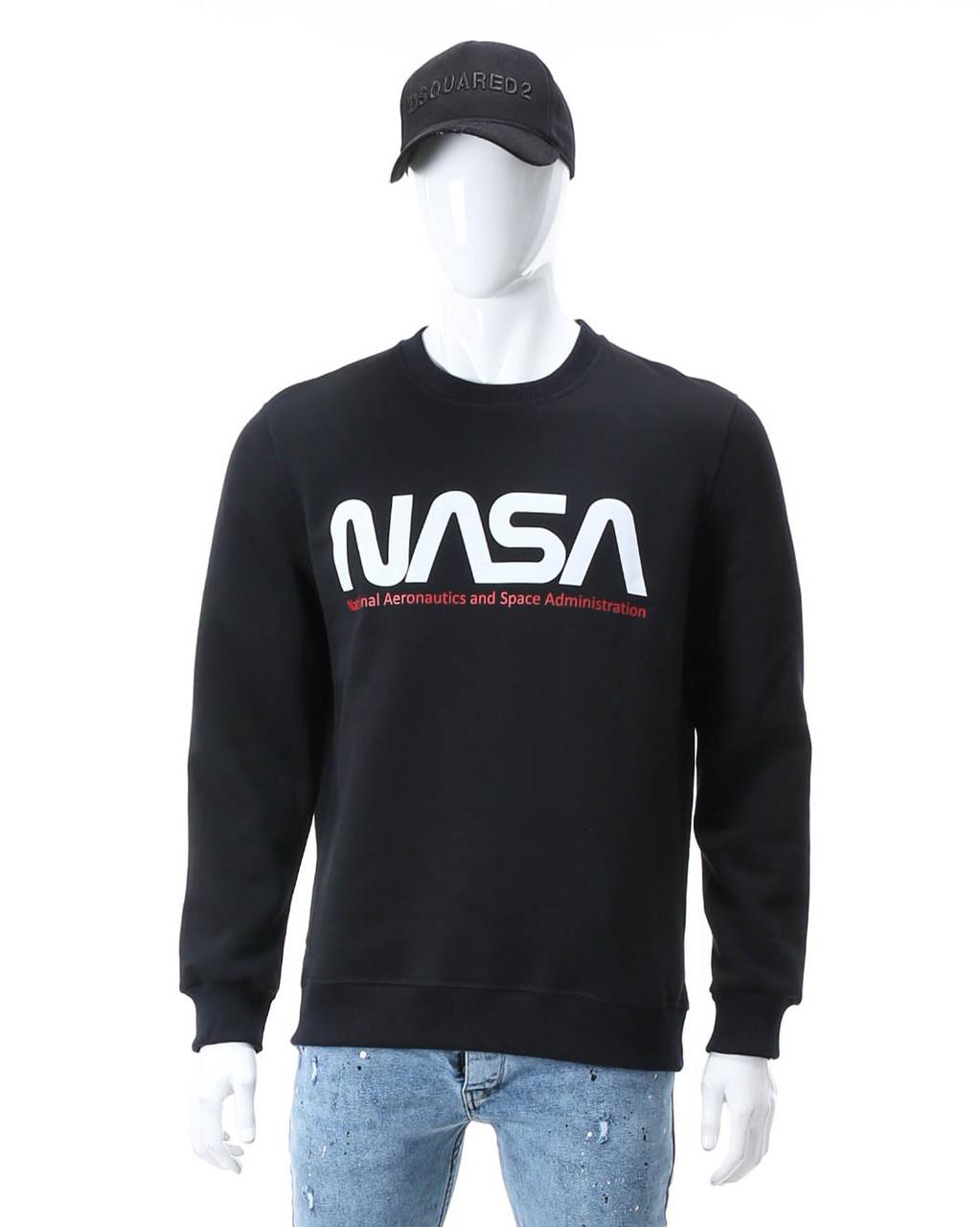 Свитшот осень-зима т синий NASA №6 DBLU 2XL(Р) 20-535-003