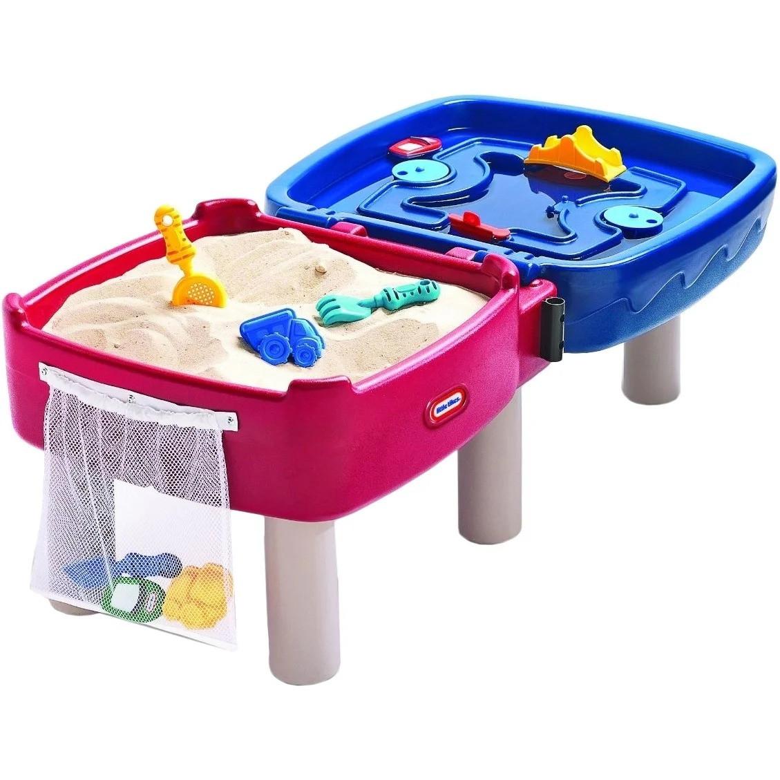 Детский игровой водный столик песочница 2 в 1 Little Tikes 451T для детей