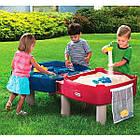 Детский игровой водный столик песочница 2 в 1 Little Tikes 451T для детей, фото 3
