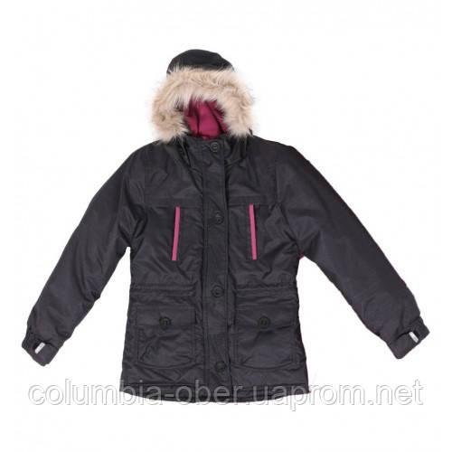 Зимняя подростковая куртка для девочек SNO F18J310 Black. Размеры 8 -16 лет.