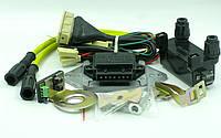 Микропроцессорная бесконтактная система зажигания (ИЖ-Юпитер) с катушкой зажигания и высоковольтными проводами