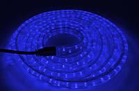 Диодная лента в силиконе 3 метра с мощными лэд лампочками 12 / 24 вольт Синий