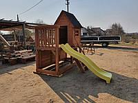 ДЕТСКАЯ площадка, Игровой комплекс из дерева, комплекс детский, игровой п15