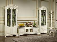 """Мебель для гостинной  """"Беатриче"""" 8053 (белая)."""