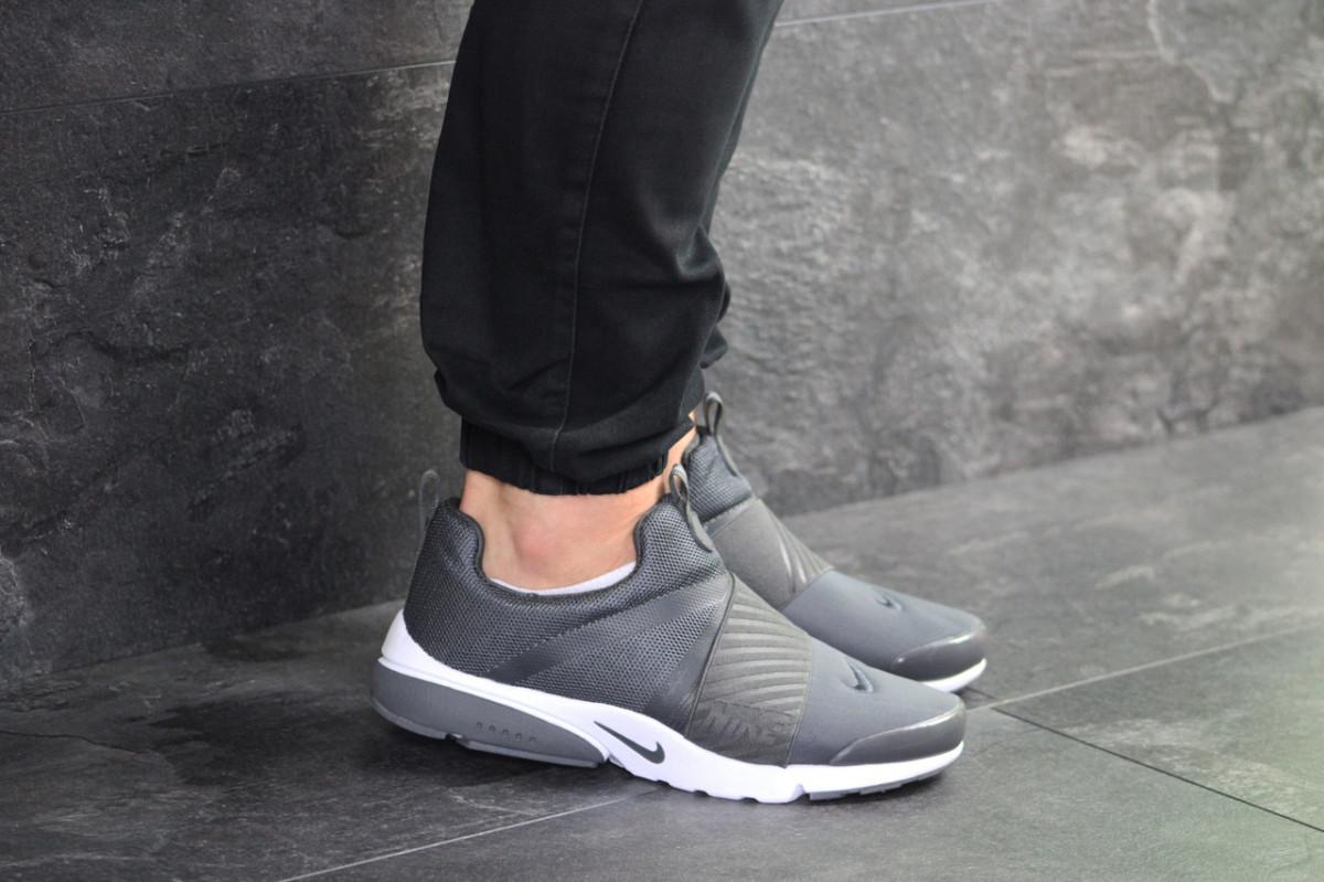 Мужские кроссовки серые Nike Presto 7980