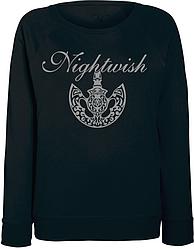 Женский свитшот Nightwish - Logo + Axe (чёрный)