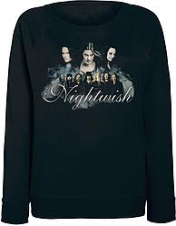 Женский свитшот Nightwish - 3 Vocalists (чёрный)