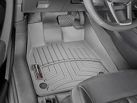 Ковры резиновые WeatherTech передние серые Audi Q5 18+