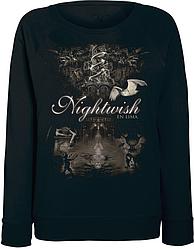 Женский свитшот Nightwish - El Lima (чёрный)