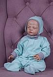 Демісезонний набір одягу для новонароджених Міні м'ятний, фото 4