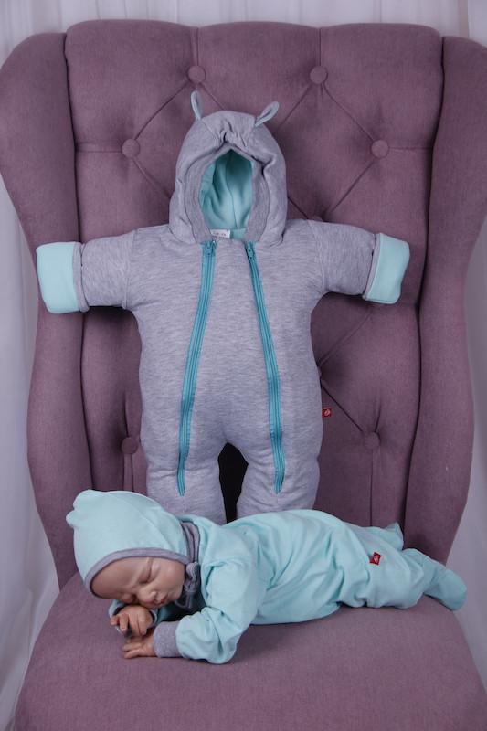 Демісезонний набір одягу для новонароджених Міні м'ятний