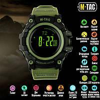 Часы тактические M-Tac Adventure Black/Olive, фото 1