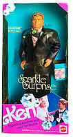 Колекційна лялька Барбі Кен Barbie Ken Sparkle Surprise 1991 Mattel 3149
