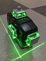 !ЗЕЛЕНЫЙ ЛУЧ! Лазерный уровень Deko 3D 12 линий, лазерний рівень