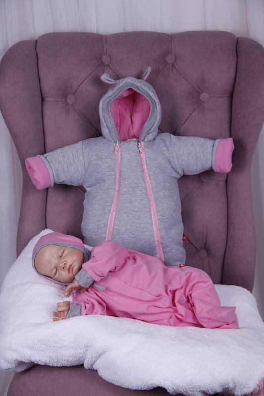 Демисезонный набор одежды для новорожденных Мини розовый
