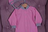 Демисезонный набор одежды для новорожденных Мини розовый, фото 4