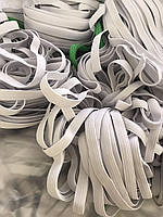 Резинка 6 мм для шитья 100м белая