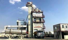Стационарный асфальтный завод Teknofalt TKN 120-140 т/ч
