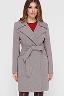 Женское стильное пальто с карманами ПМ-123