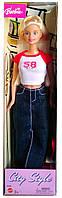 Коллекционная кукла Барби Городской стиль Barbie City Style Jean Skirt 2003 Mattel G6095