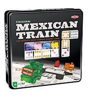 Настольная игра Tactic Мексиканский Поезд (металлическая коробка) (54005)