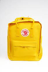 Спортивный рюкзак Fjallraven Kanken Classic 16 л, желтый