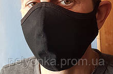 Аксессуар маска 2х слойная многоразовая
