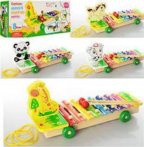 Деревянная игра Ксилофон (Зебра) / Музыкальные игрушки / Развивающие игрушки, фото 2