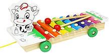 Деревянная игра Ксилофон (Зебра) / Музыкальные игрушки / Развивающие игрушки, фото 3