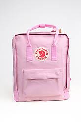 Тканевый рюкзак Fjallraven Kanken Classic 16 л, розовый