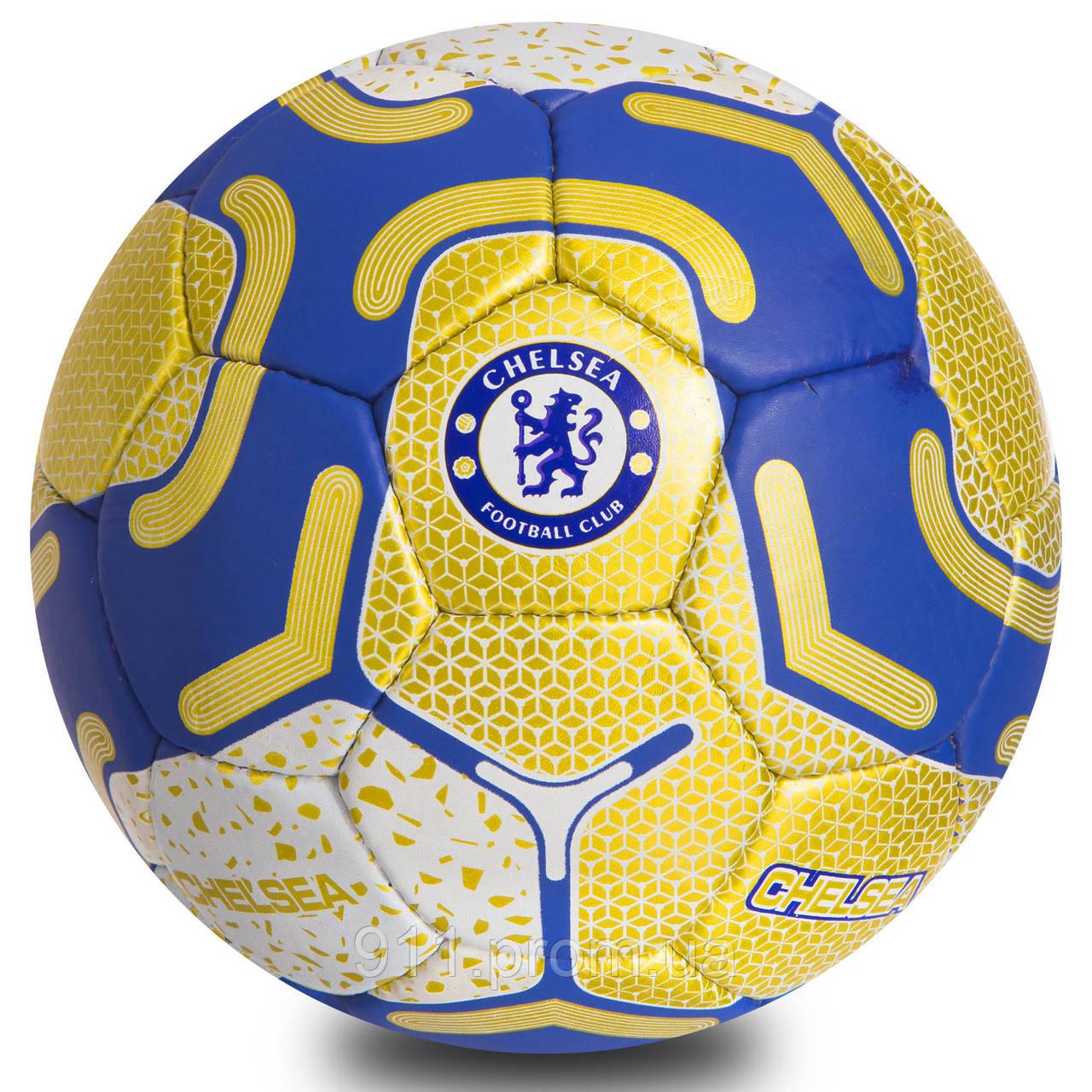 Мяч футбольный № 5 Гриппи 5 сл. CHELSEA 9059 ( 0680 )
