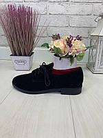 39 р. Туфли женские замшевые, из натуральной замши, натуральная замша, фото 1