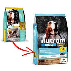 Сухой корм Nutram I18 Ideal Solution Support Weight Control Dog для собак, склонных к ожирению